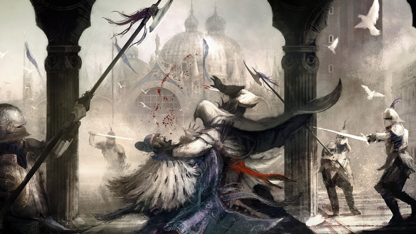 Assassin's Creed II Wallpaper in 1366x768