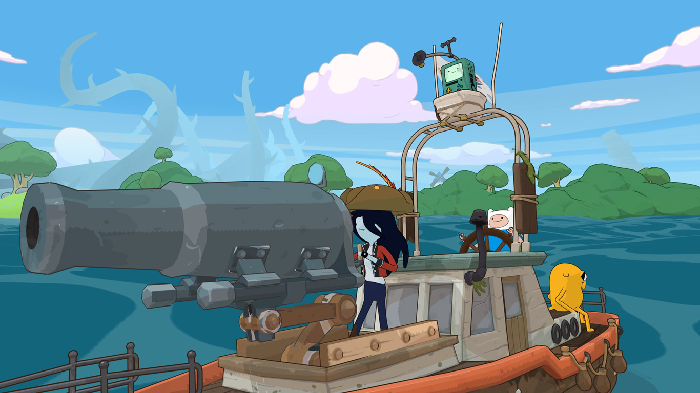 Free Adventure Time: Pirates of the Enchiridion Wallpaper in 1366x768