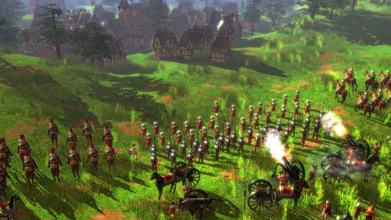 Free Age of Empires III Wallpaper in 1366x768
