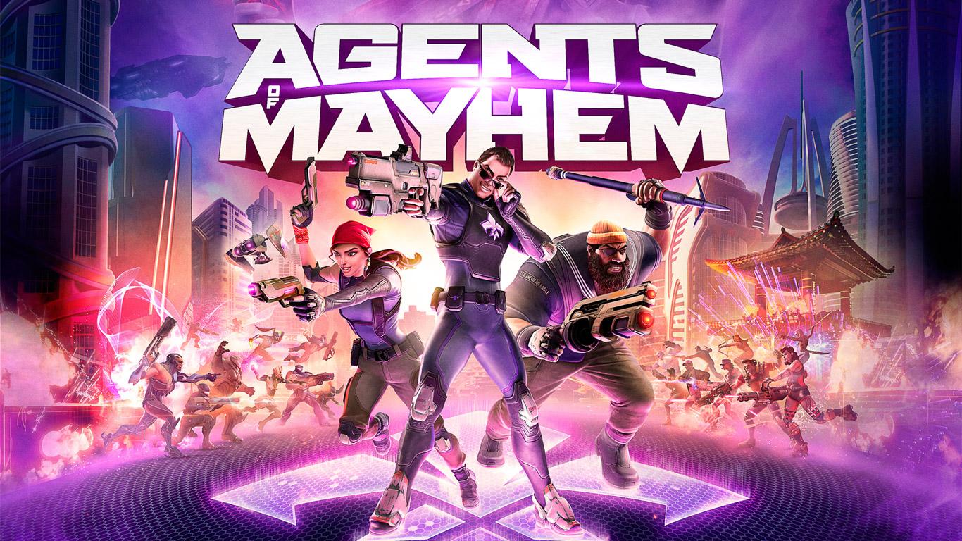 Free Agents of Mayhem Wallpaper in 1366x768