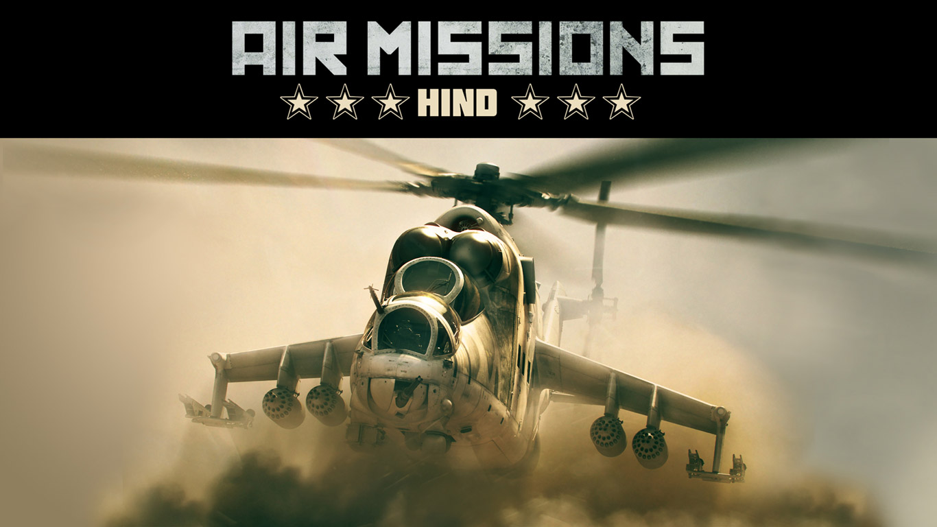 Free Air Missions: HIND Wallpaper in 1366x768