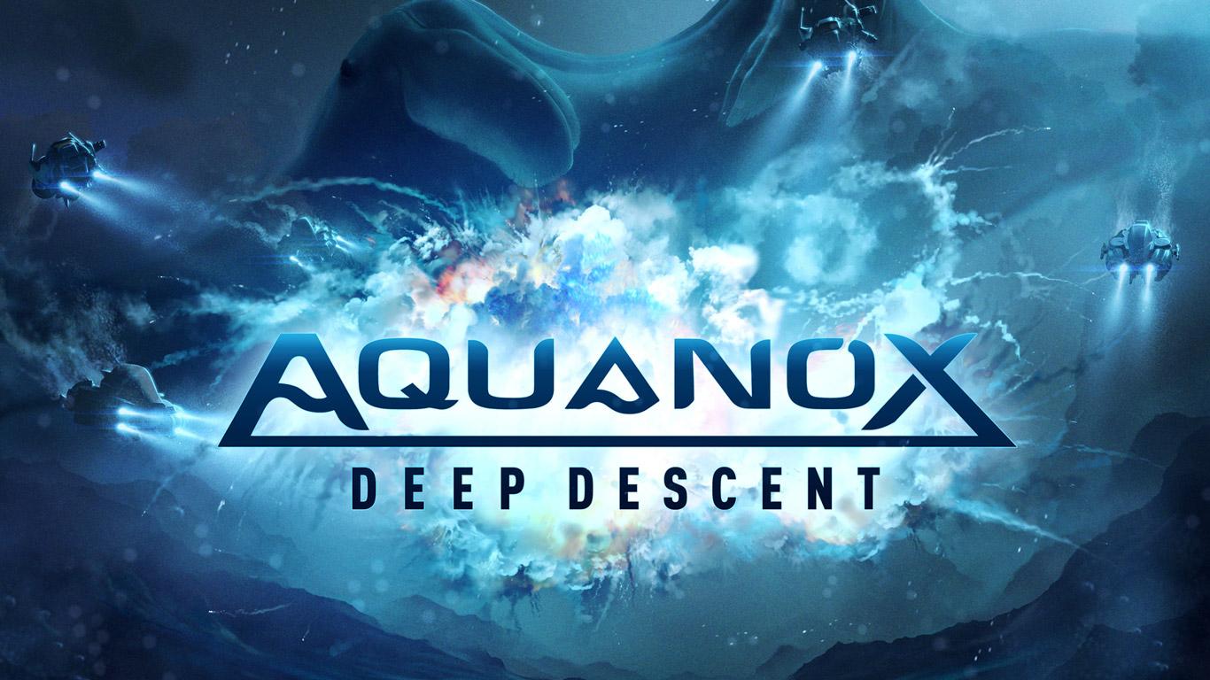 Free Aquanox Deep Descent Wallpaper in 1366x768