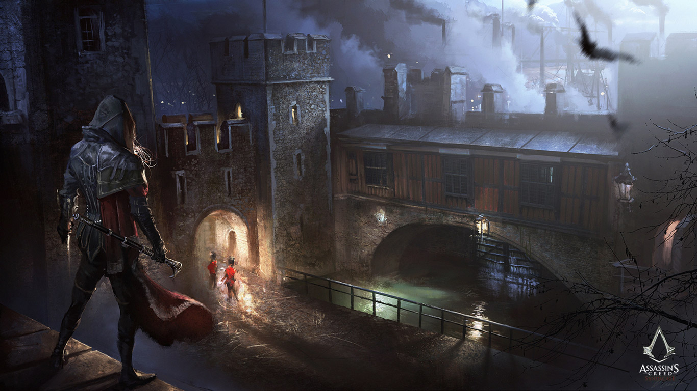 Free Assassin's Creed: Syndicate Wallpaper in 1366x768