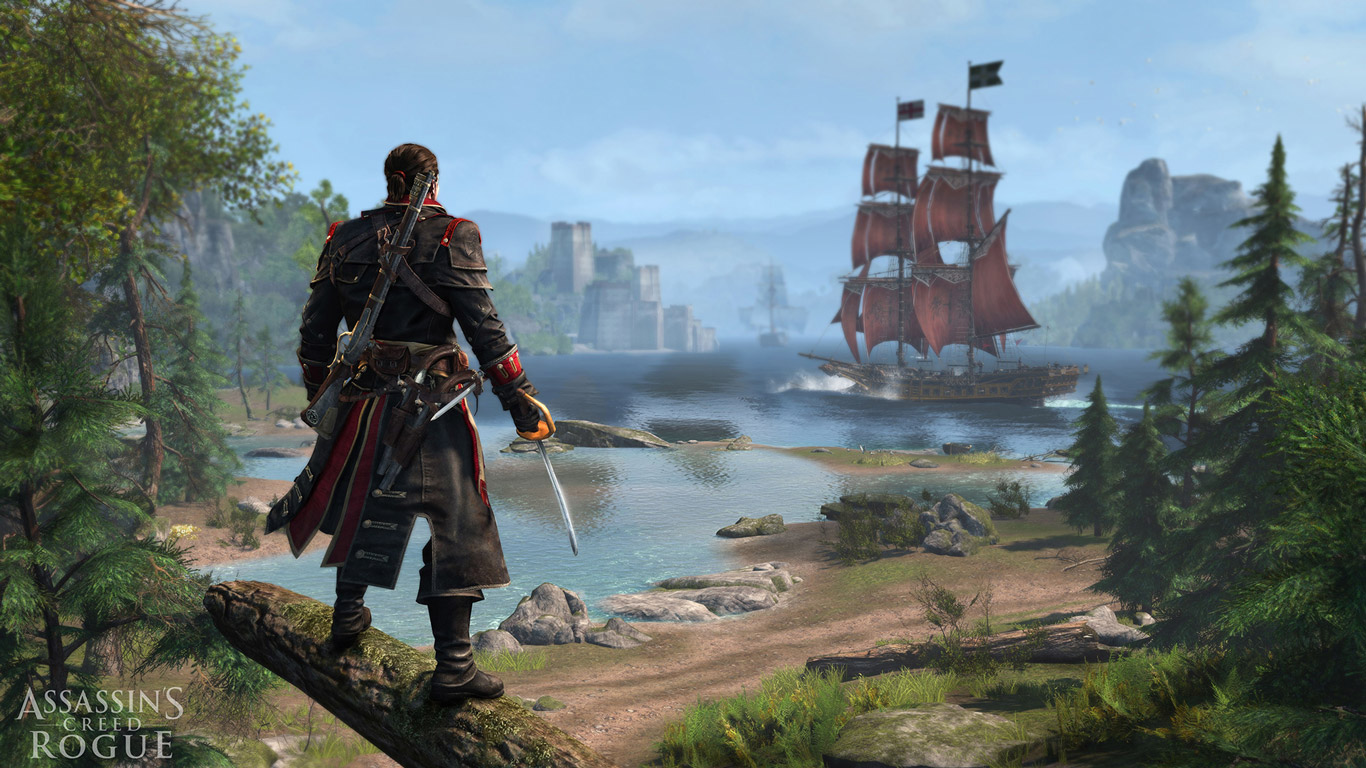 Assassin's Creed: Rogue Wallpaper in 1366x768