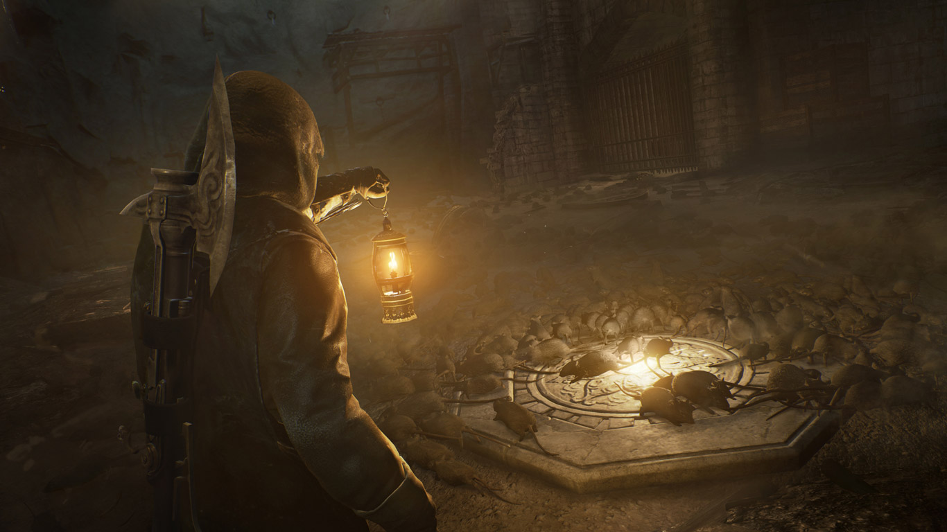 Free Assassin's Creed: Unity Wallpaper in 1366x768