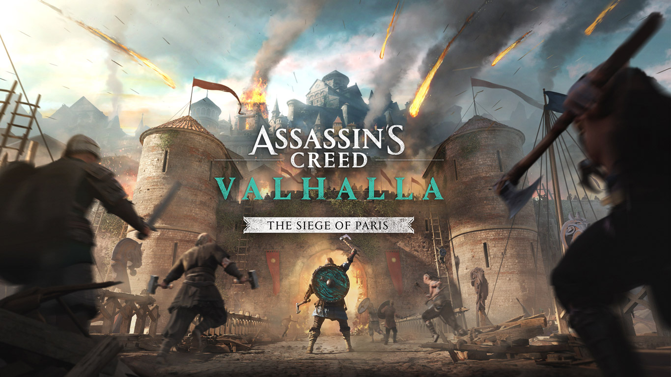 Free Assassin's Creed Valhalla Wallpaper in 1366x768