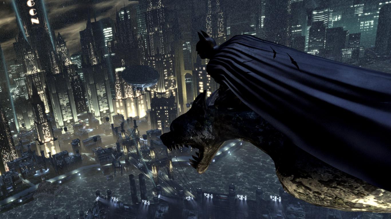 Free Batman: Arkham City Wallpaper in 1366x768