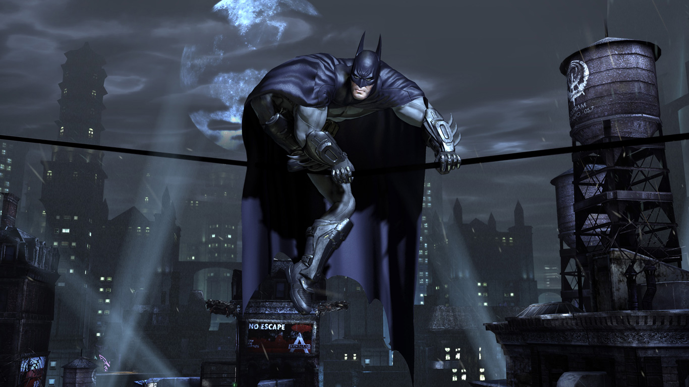 Free Batman: Arkham City Wallpaper in 1366x768