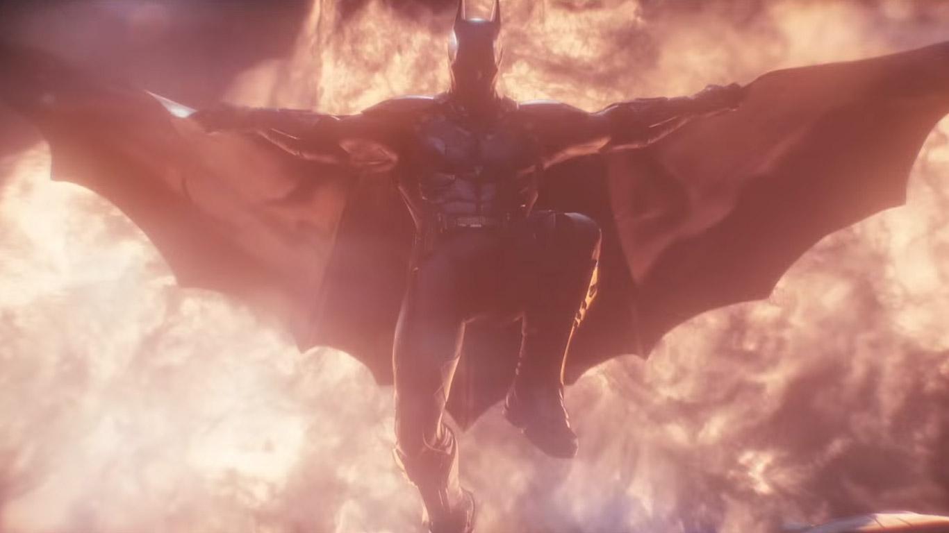 Free Batman: Arkham Knight Wallpaper in 1366x768