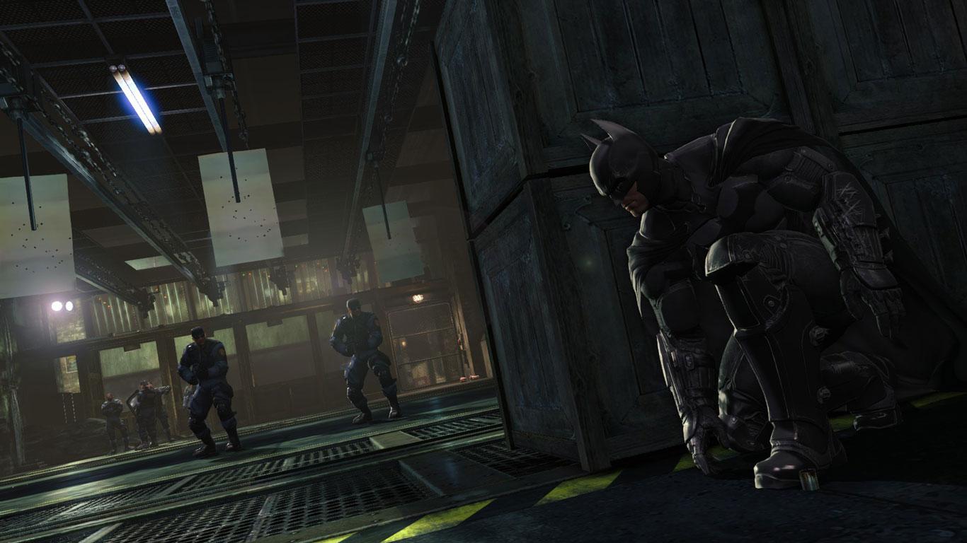 Free Batman: Arkham Origins Wallpaper in 1366x768