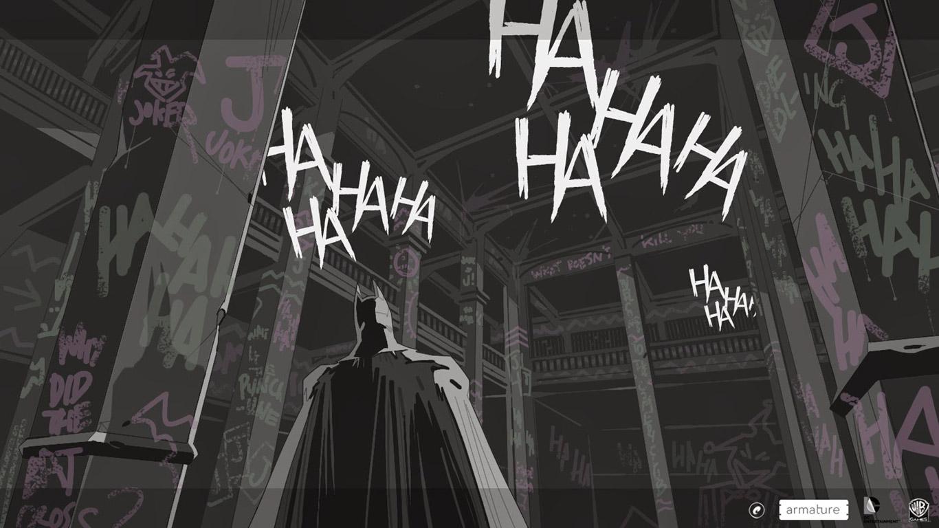 Batman: Arkham Origins Blackgate Wallpaper in 1366x768