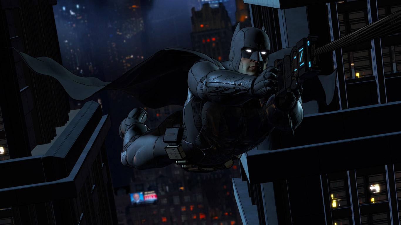 Batman: The Telltale Series Wallpaper in 1366x768