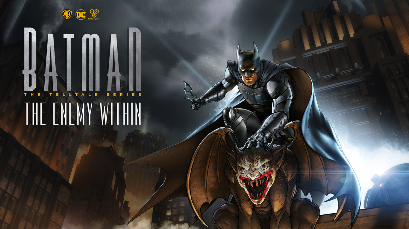 Batman: The Enemy Within - The Telltale Series Wallpaper in 1366x768
