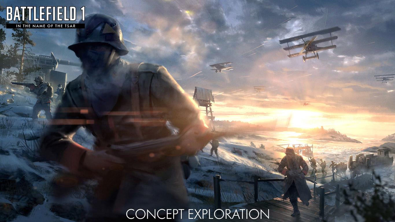 Free Battlefield 1 Wallpaper in 1366x768
