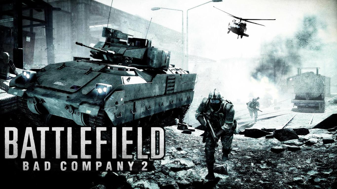 Battlefield: Bad Company 2 Wallpaper in 1366x768
