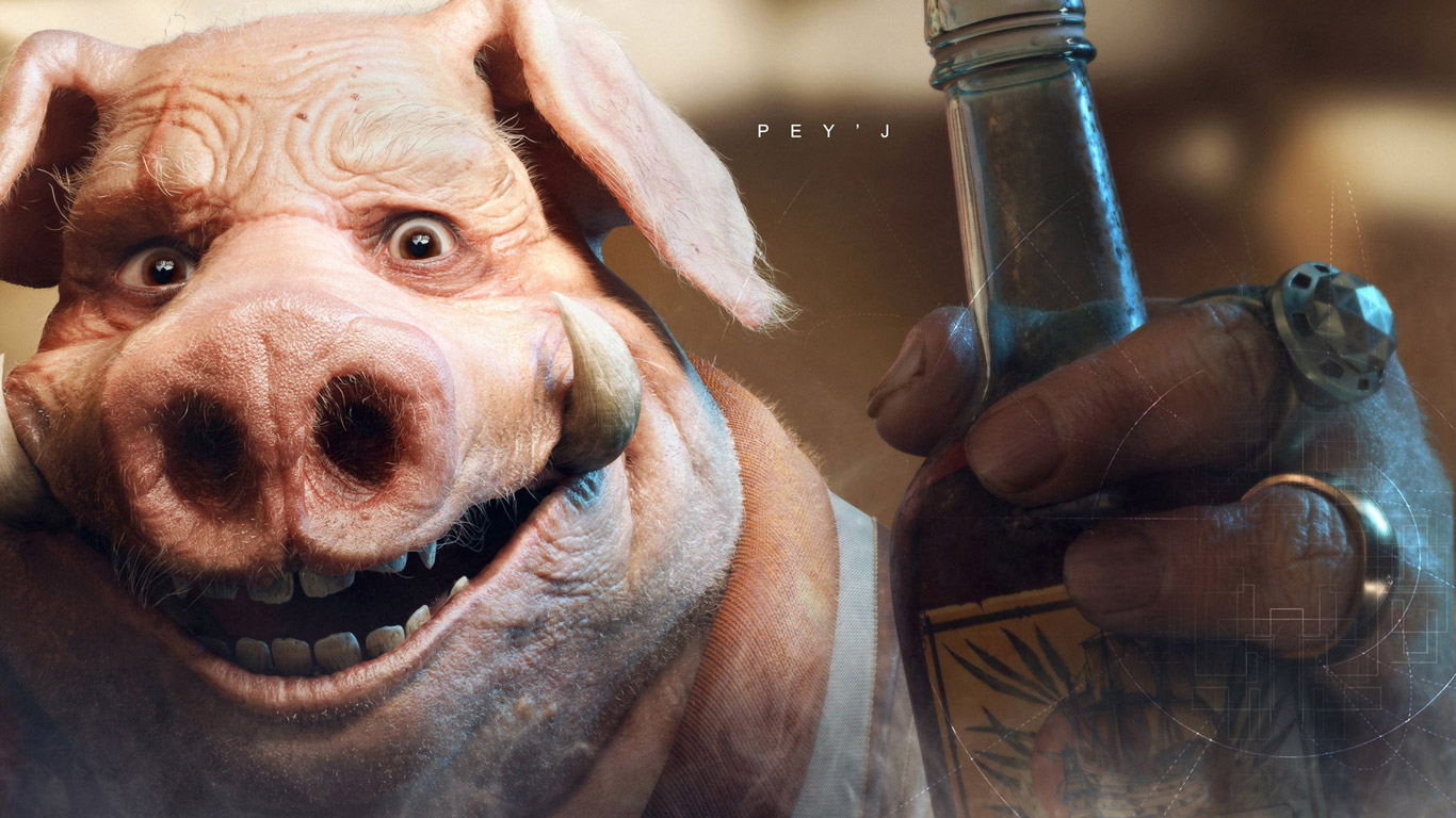 Free Beyond Good and Evil 2 Wallpaper in 1366x768