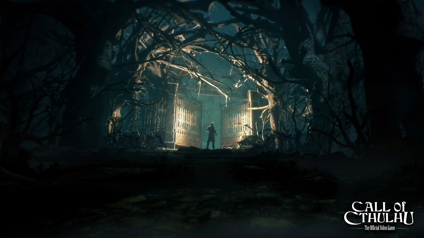 Free Call of Cthulhu Wallpaper in 1366x768