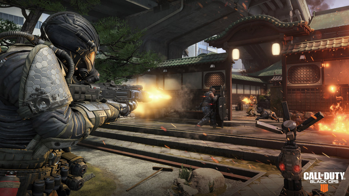Call of Duty: Black Ops 4 Wallpaper in 1366x768