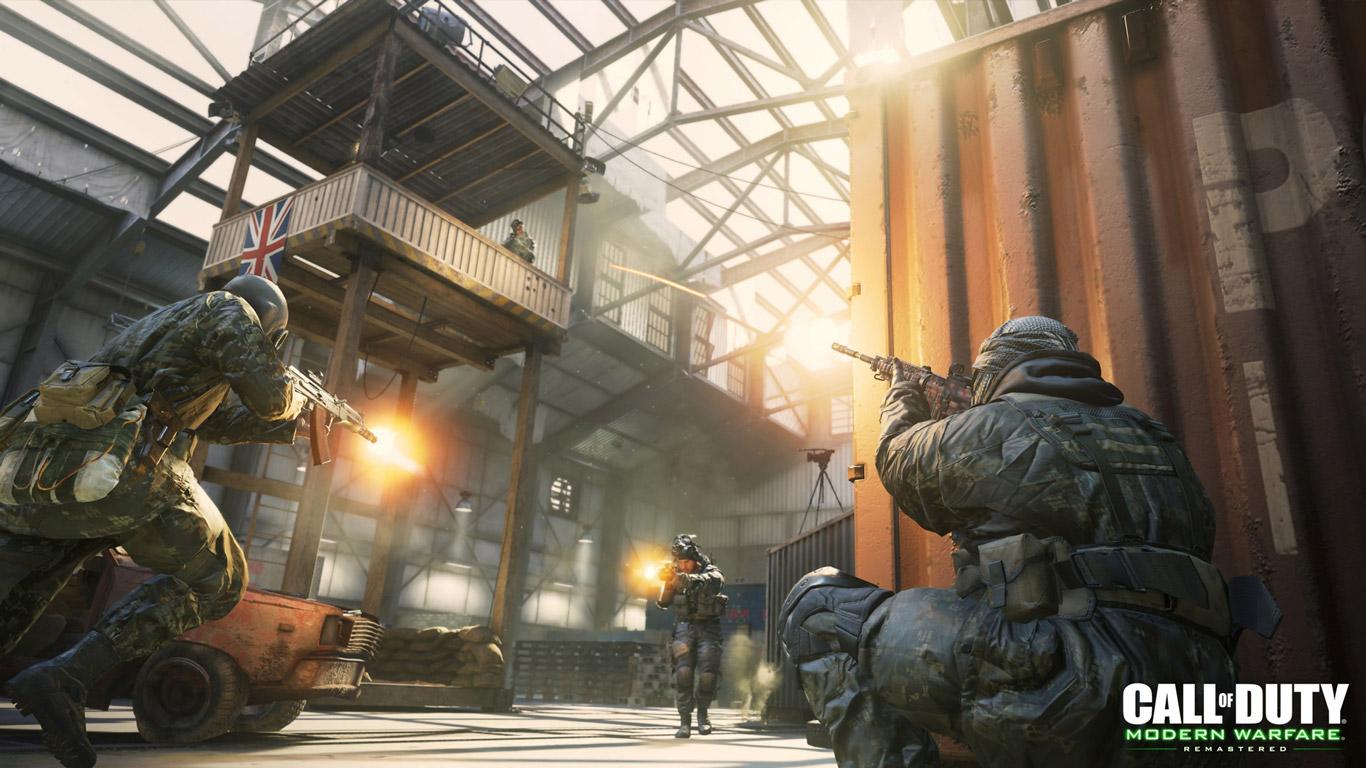 Call of Duty: Modern Warfare Wallpaper in 1366x768