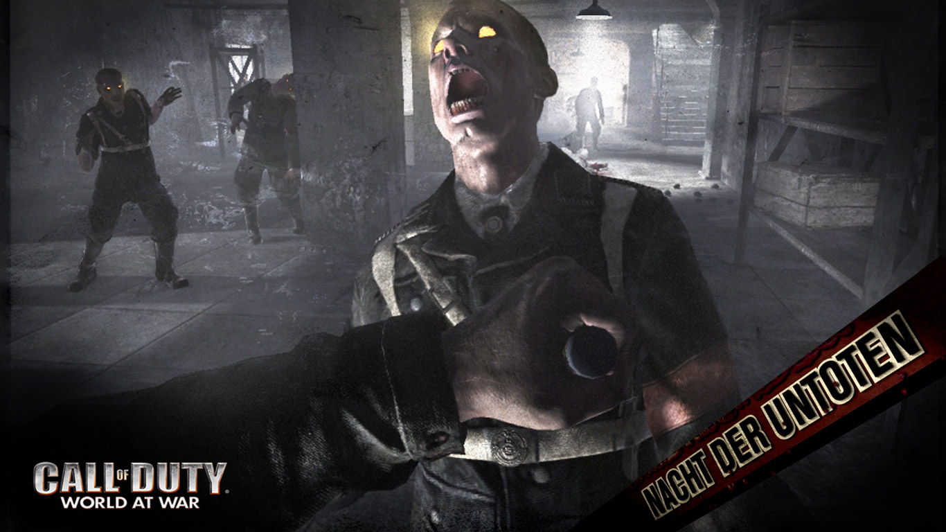 Call of Duty: World at War Wallpaper in 1366x768