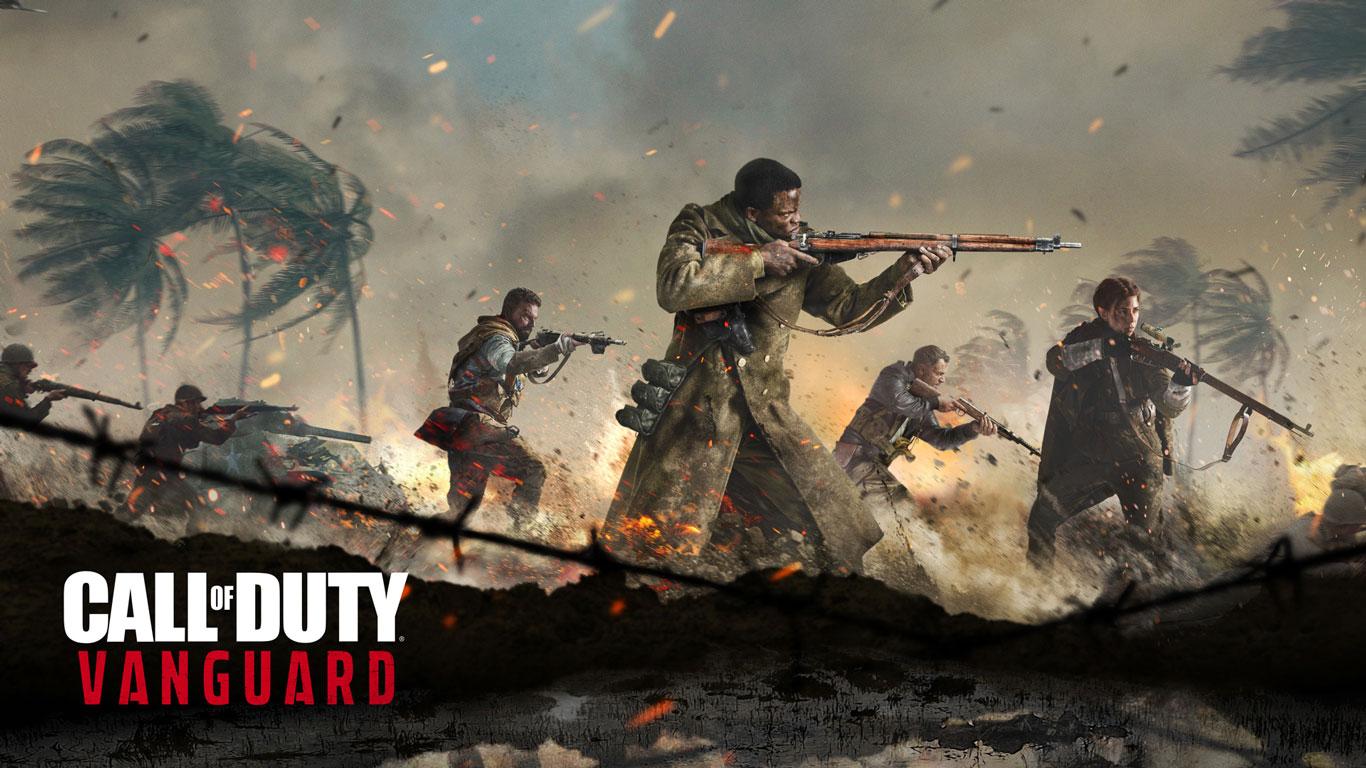 Free Call of Duty: Vanguard Wallpaper in 1366x768