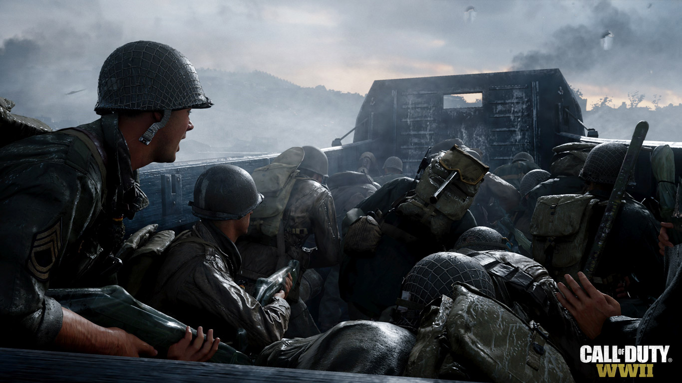 Call of Duty: WWII Wallpaper in 1366x768