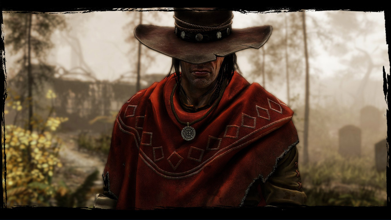 Free Call of Juarez: Gunslinger Wallpaper in 1366x768