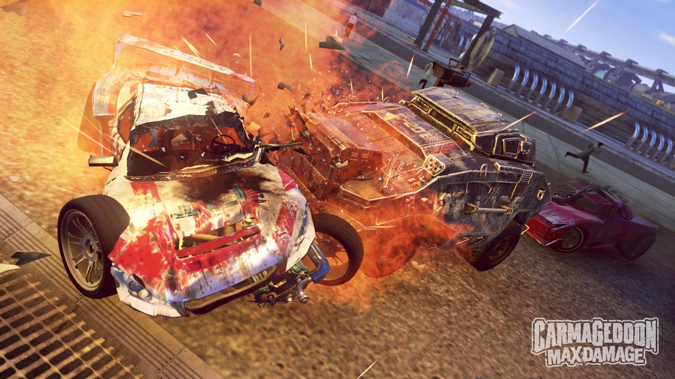 Free Carmageddon: Max Damage Wallpaper in 1366x768