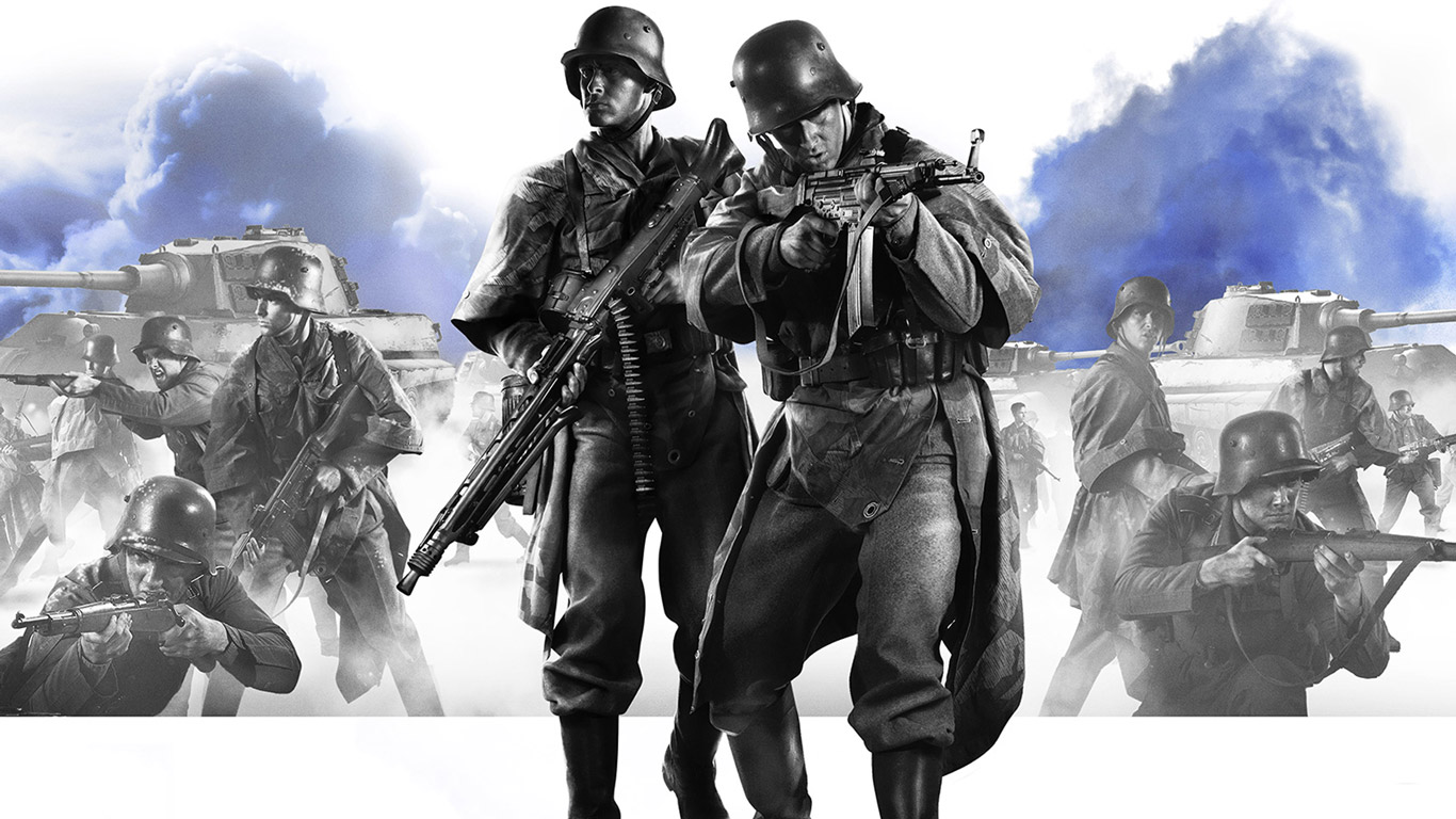 Free Company of Heroes 2 Wallpaper in 1366x768