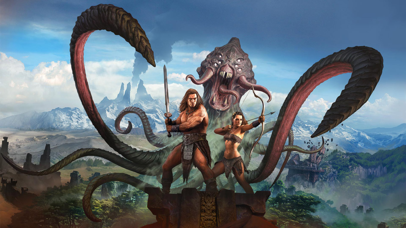 Free Conan Exiles Wallpaper in 1366x768