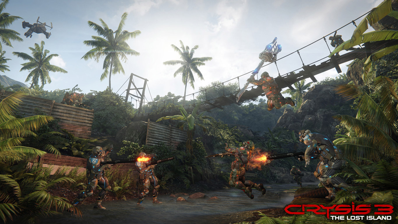 Crysis 3 Wallpaper in 1366x768