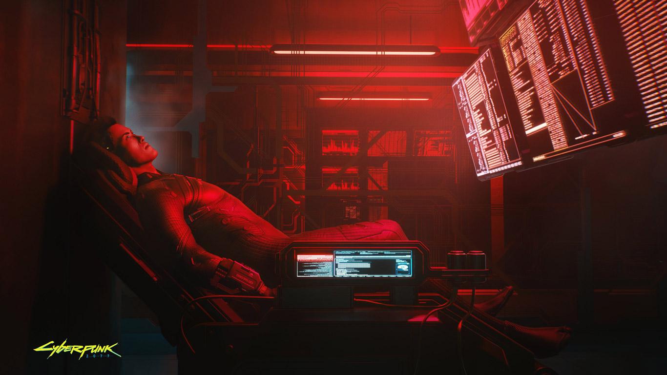 Cyberpunk 2077 Wallpaper in 1366x768