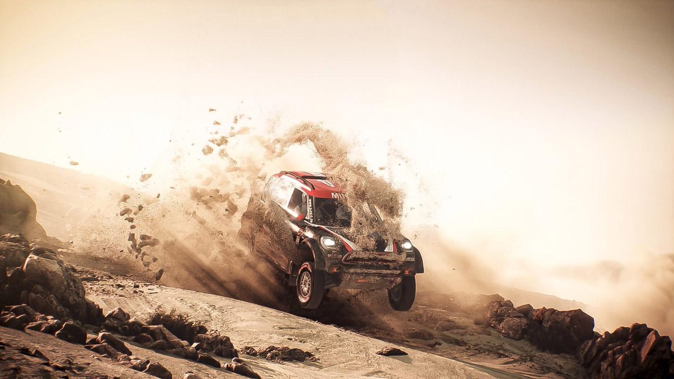 Free Dakar 18 Wallpaper in 1366x768