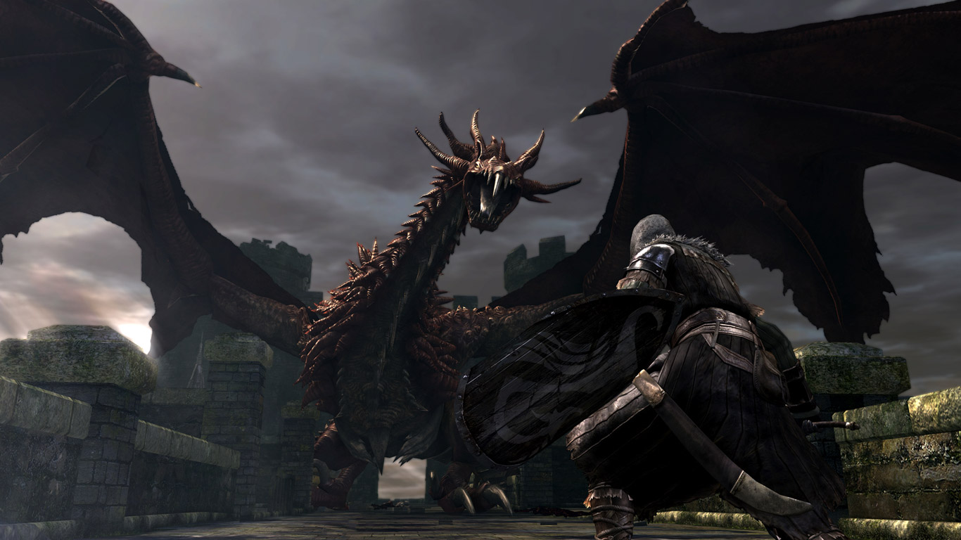 Free Dark Souls Wallpaper in 1366x768