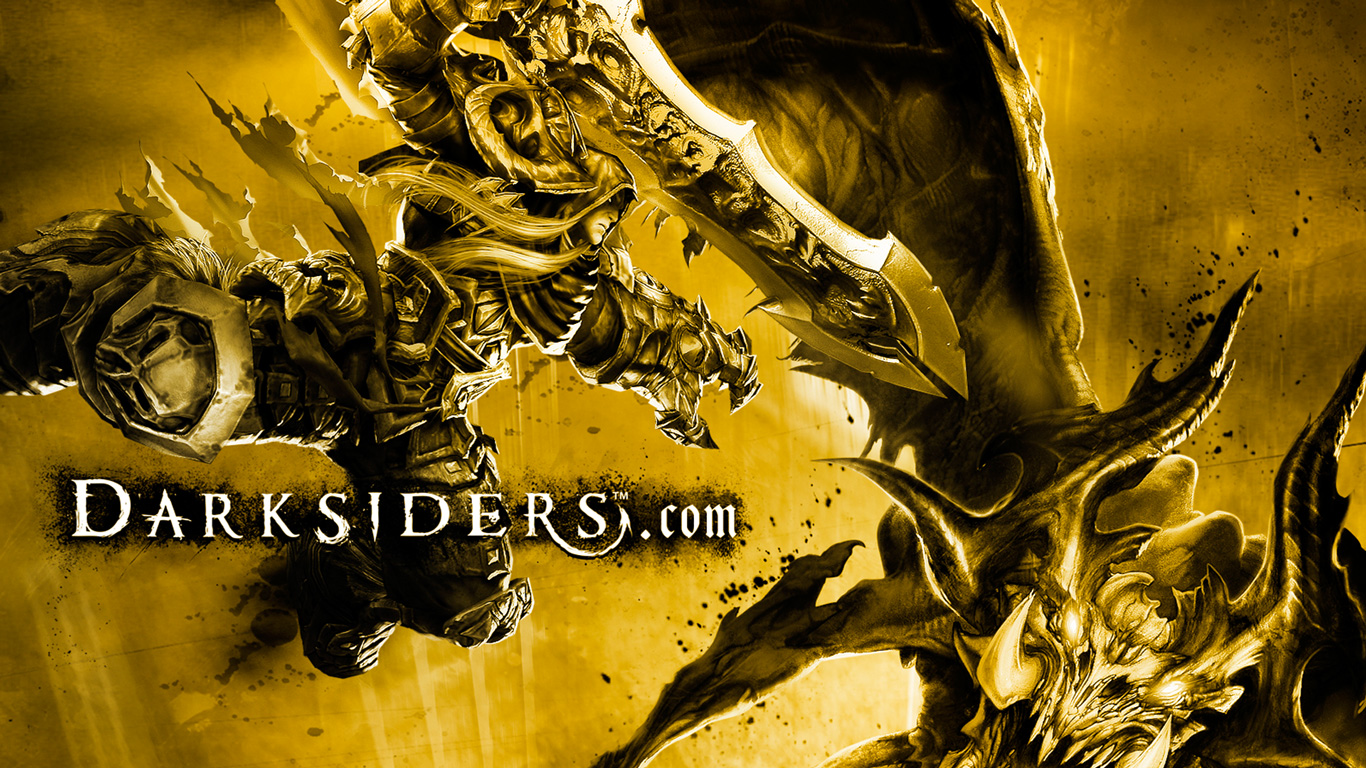Darksiders Wallpaper in 1366x768