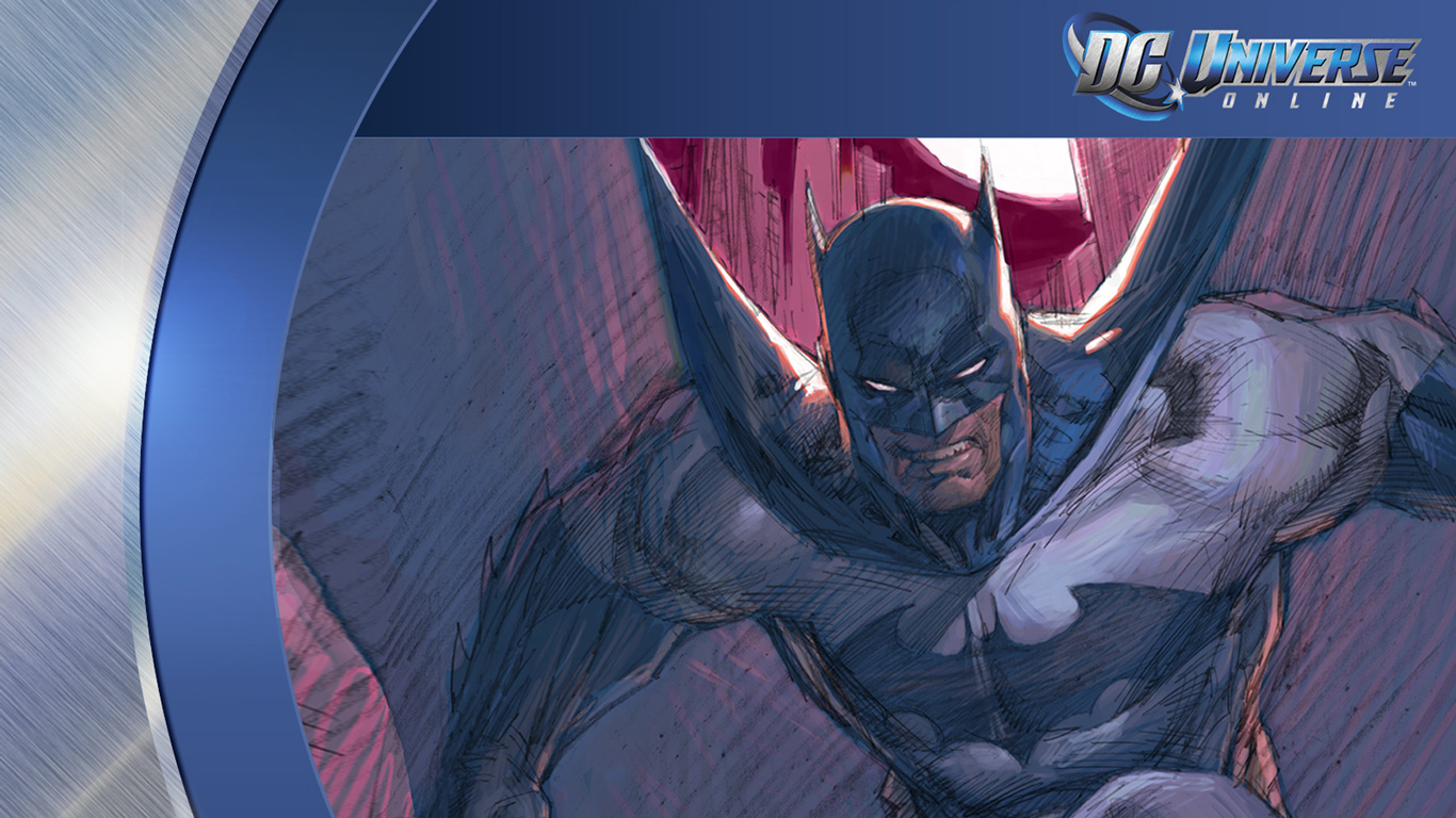 Free DC Universe Online Wallpaper in 1366x768