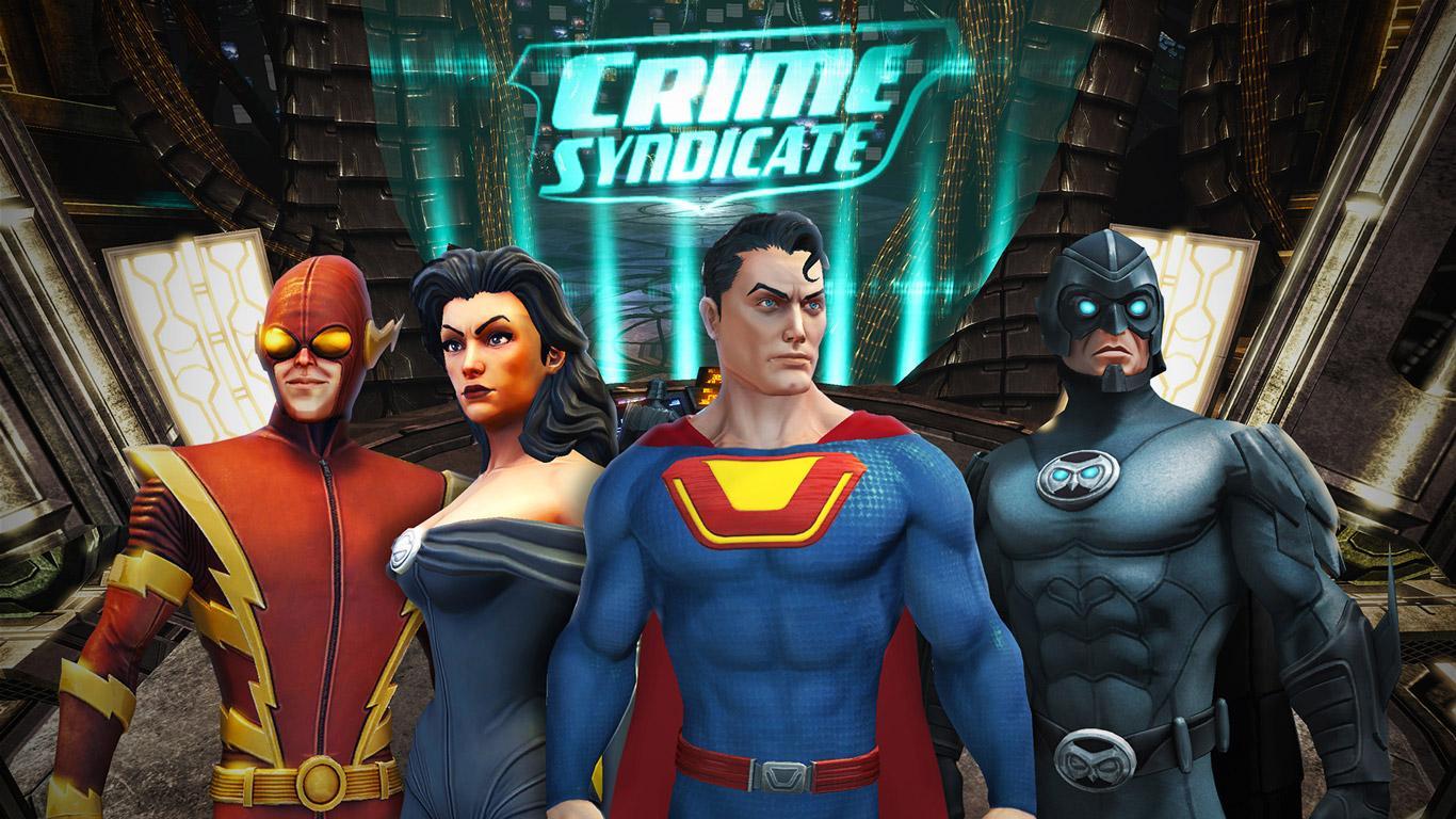 DC Universe Online Wallpaper in 1366x768
