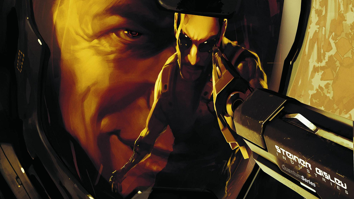 Free Deus Ex: Human Revolution Wallpaper in 1366x768