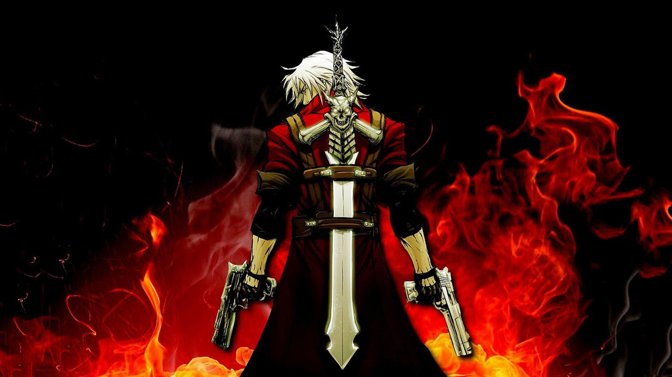 Devil May Cry 4 Wallpaper in 1366x768