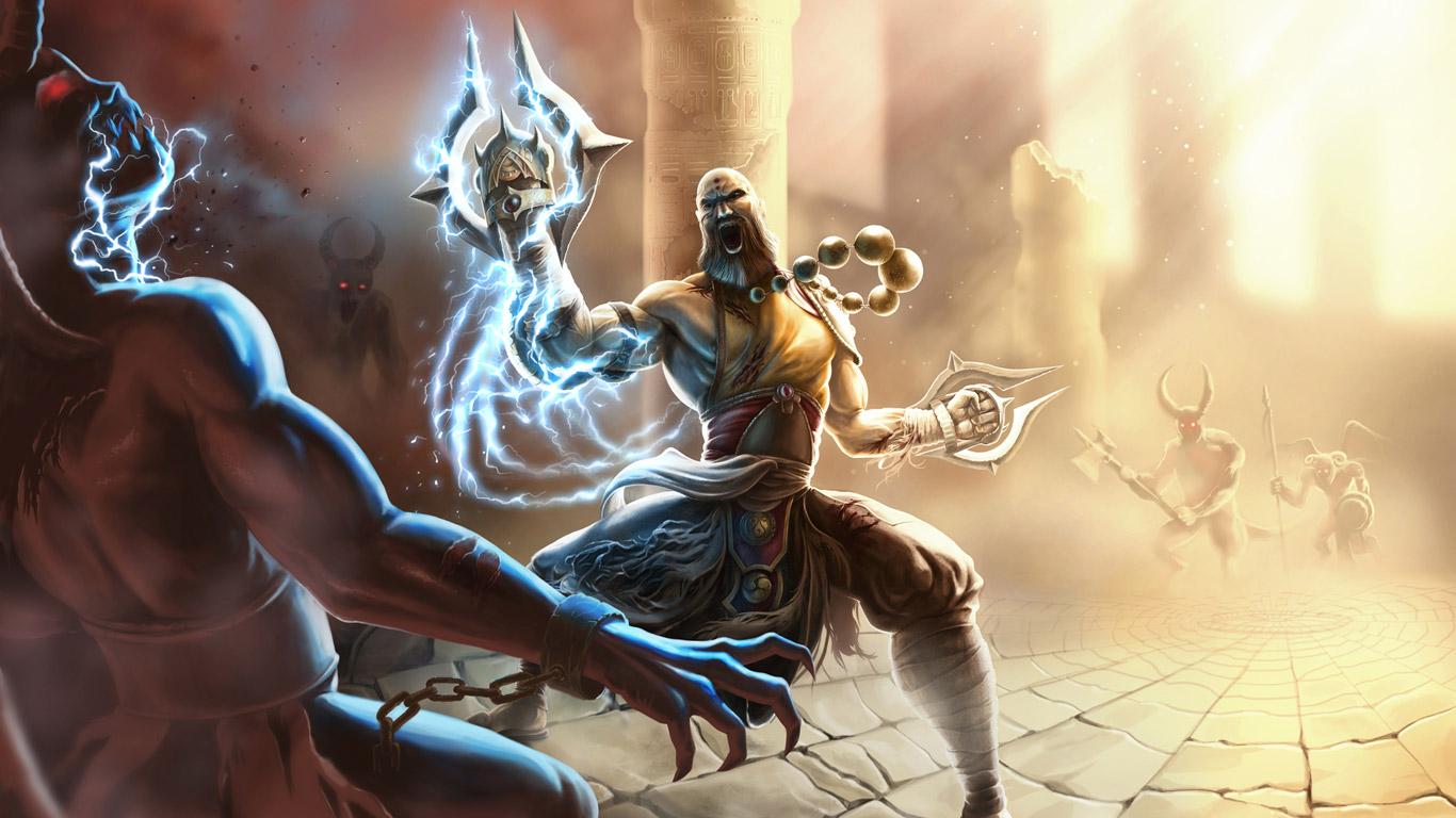 Free Diablo III Wallpaper in 1366x768