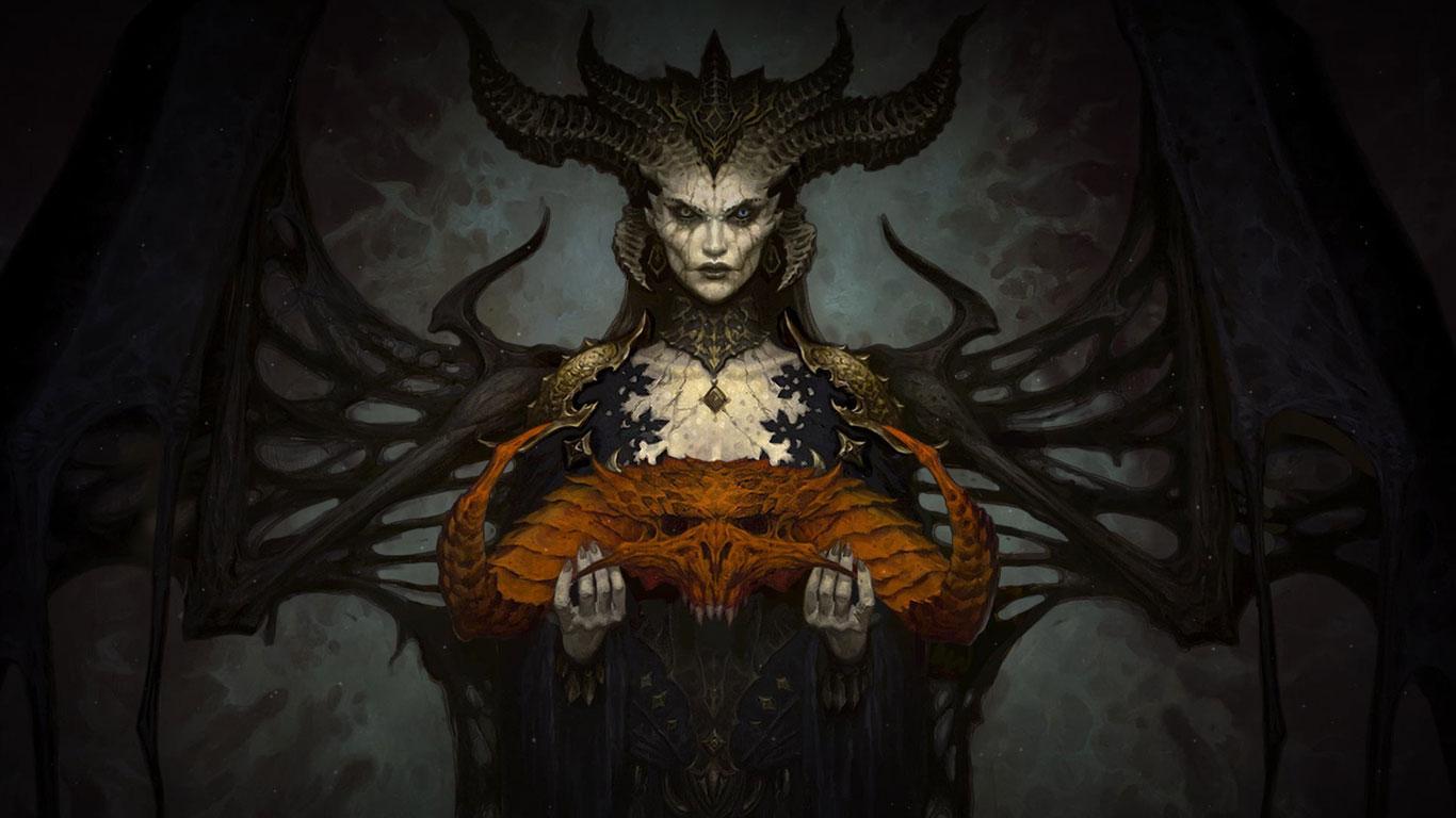 Free Diablo IV Wallpaper in 1366x768