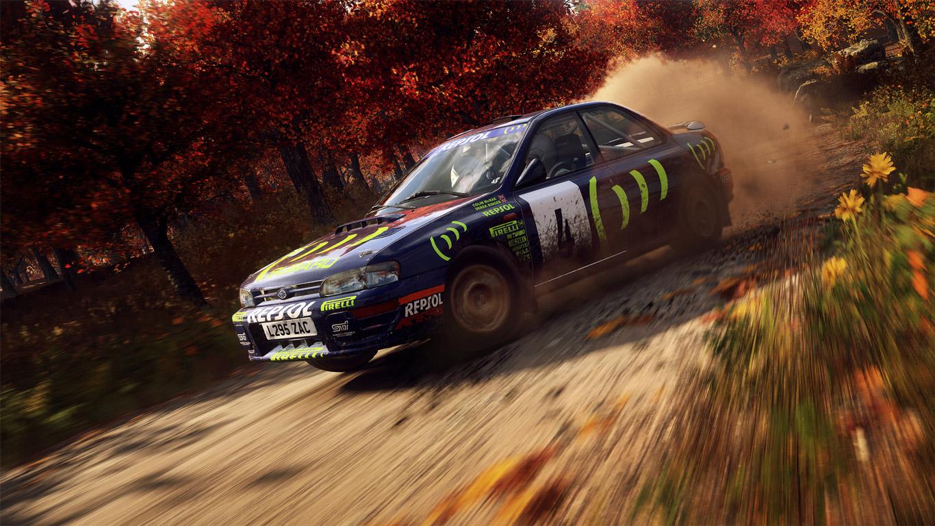 Dirt Rally 2.0 Wallpaper in 1366x768