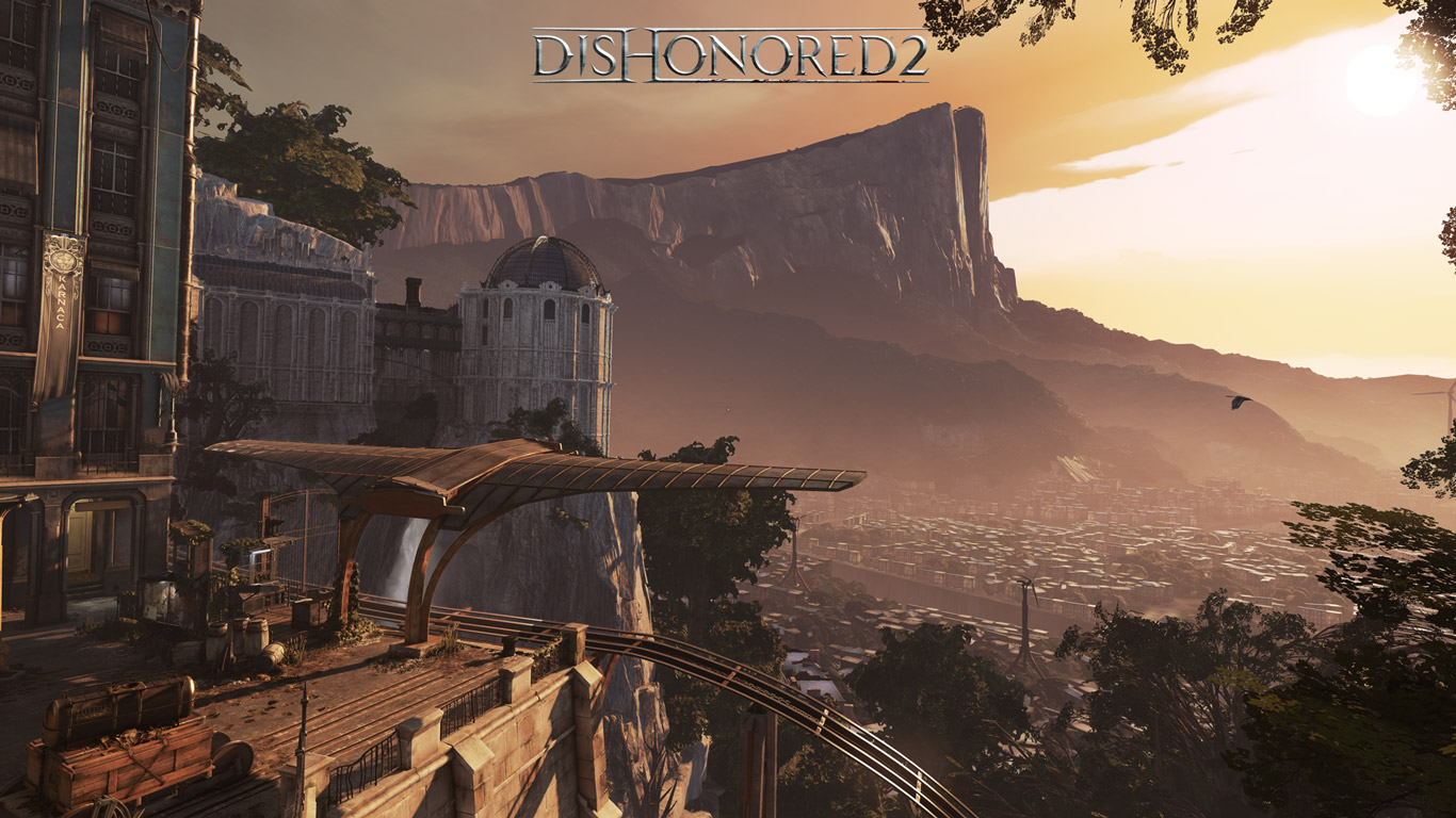 Free Dishonored 2 Wallpaper in 1366x768