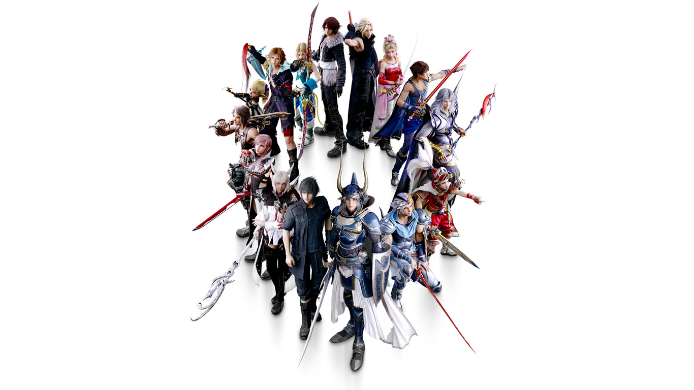 Free Dissidia Final Fantasy NT Wallpaper in 1366x768