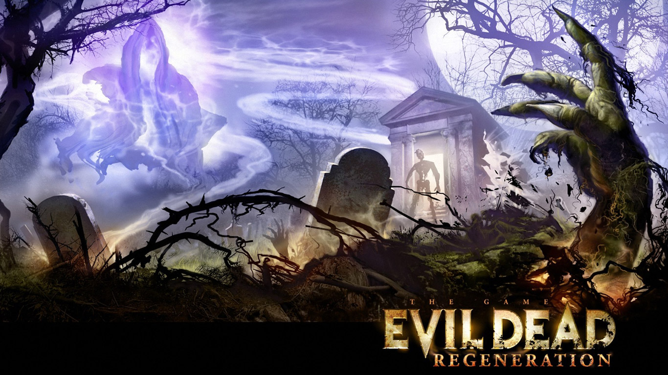 Evil Dead: Regeneration Wallpaper in 1366x768