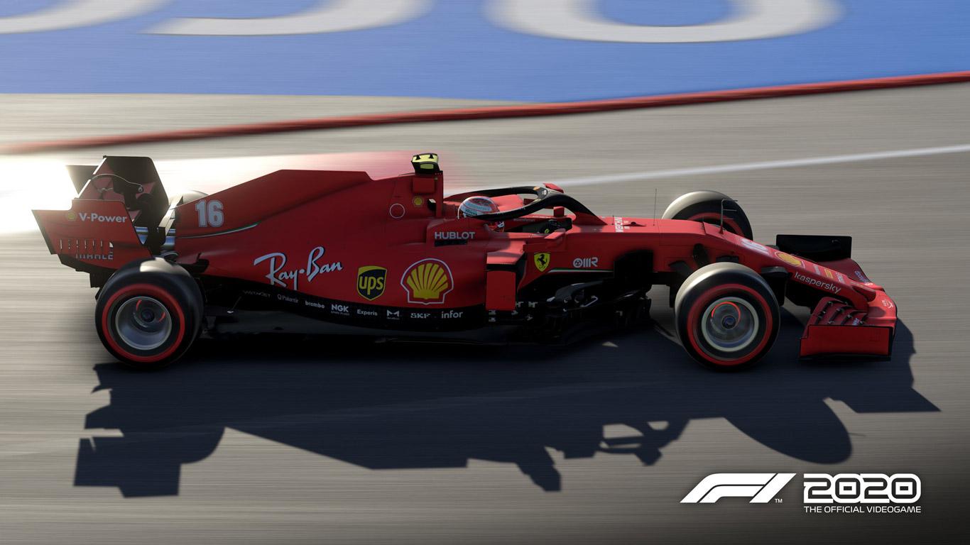 Free F1 2020 Wallpaper in 1366x768