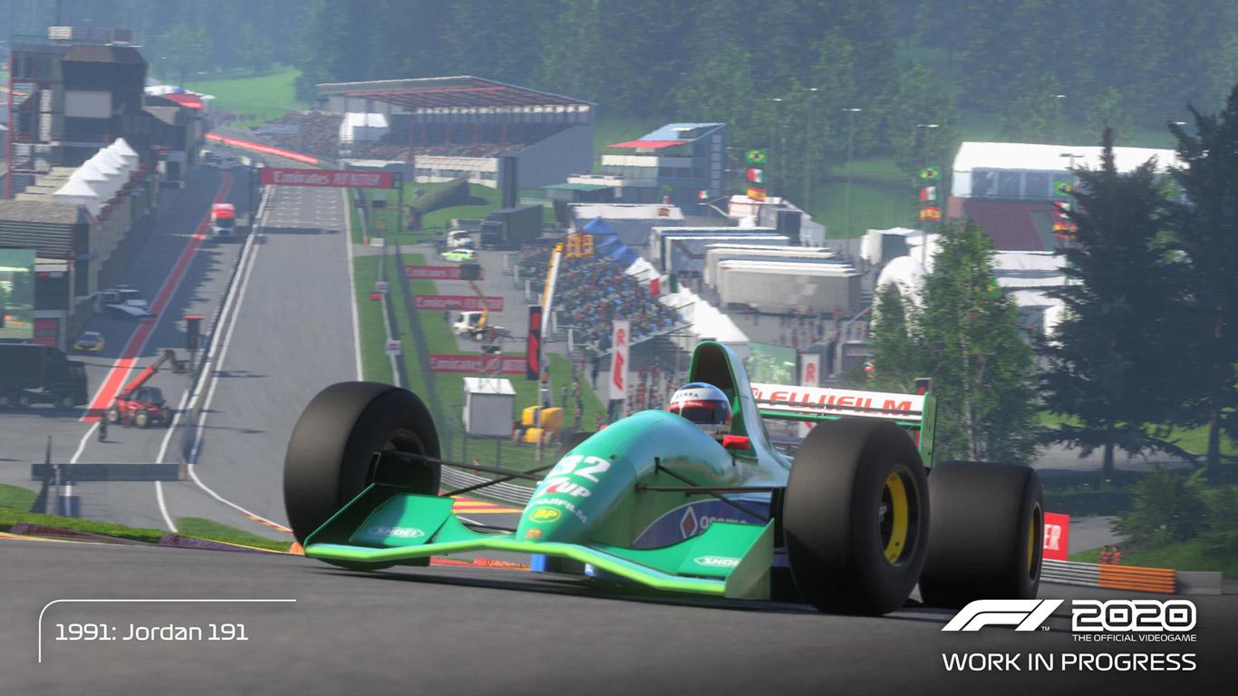 F1 2020 Wallpaper in 1366x768