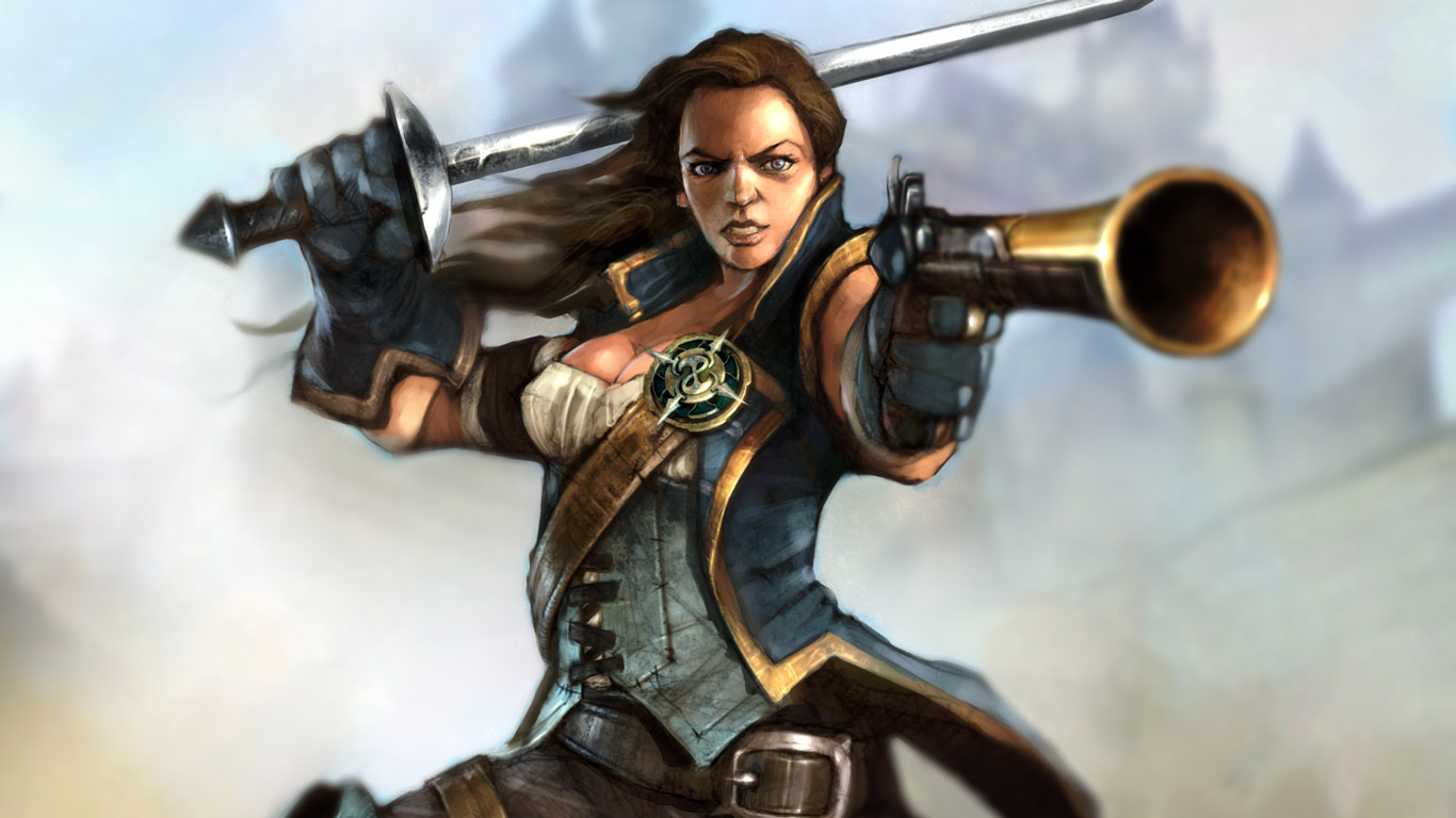 Fable 2 Wallpaper in 1366x768