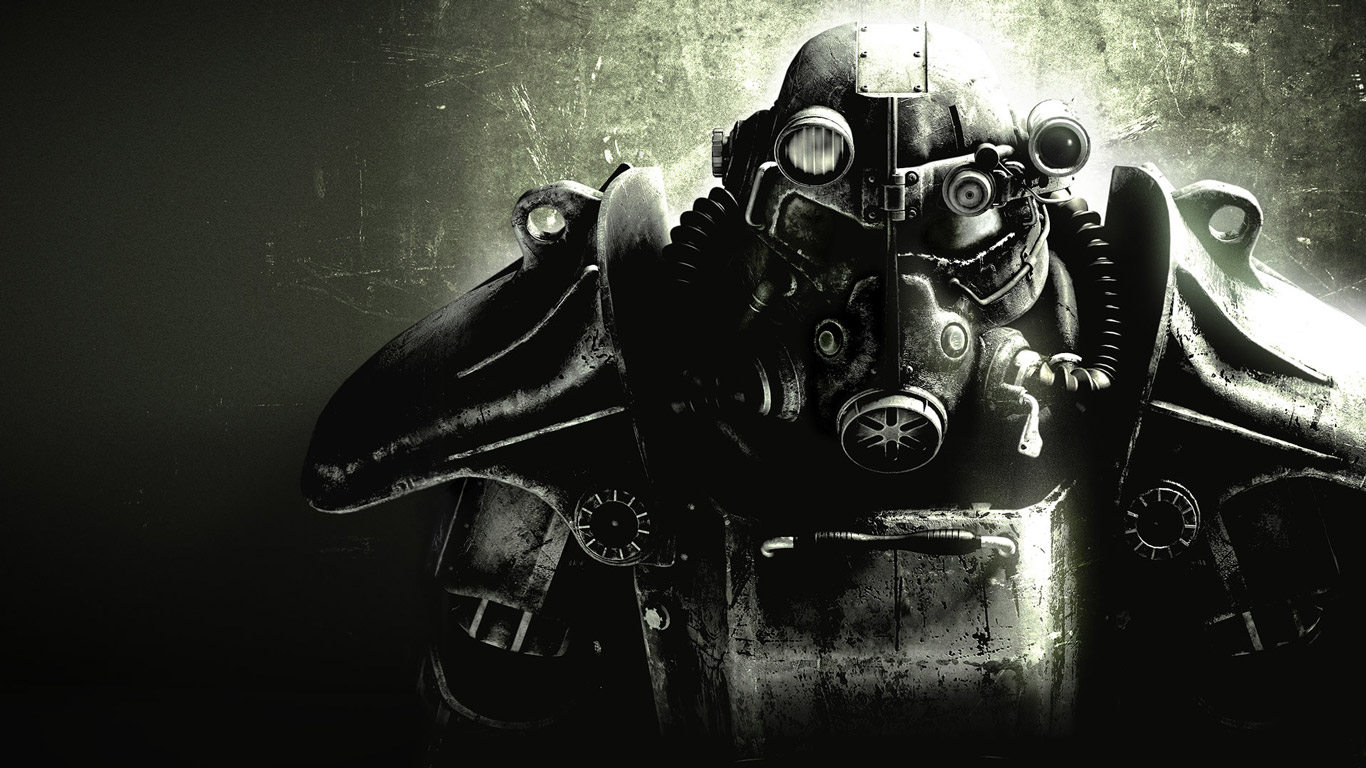 Free Fallout 3 Wallpaper in 1366x768
