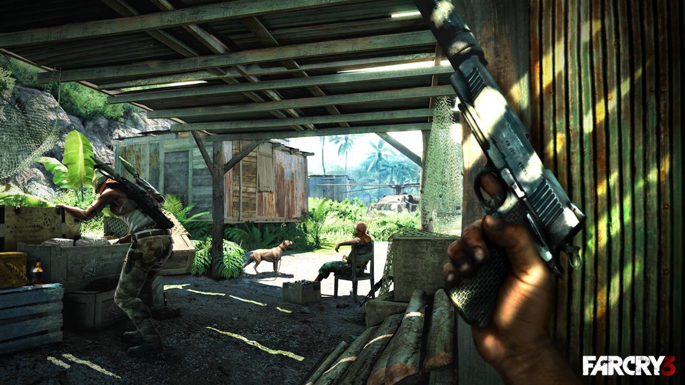 Free Far Cry 3 Wallpaper in 1366x768
